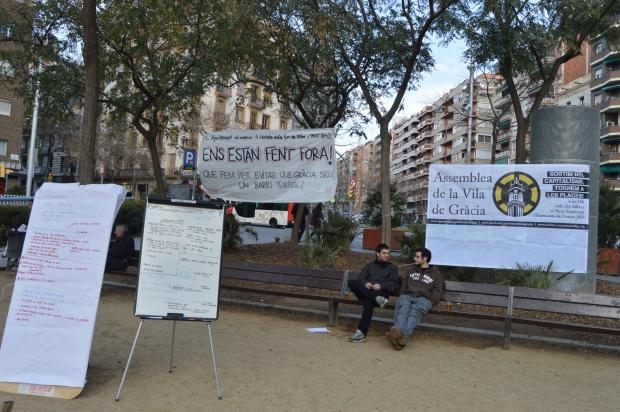 bcn districte 11 barcelona gracia on vas barri