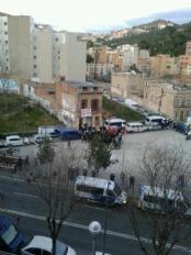Barcelona Districte 11 Vallcarca desallotjament Gràcia Guàrdia URbana