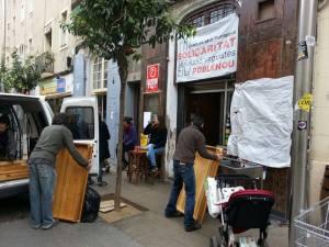 Barcelona Poblenou Octubre casal independentista esquerra districte 11