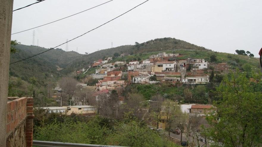 Barcelona Font del Gos COllserola sarria cordinadora barris muntanya