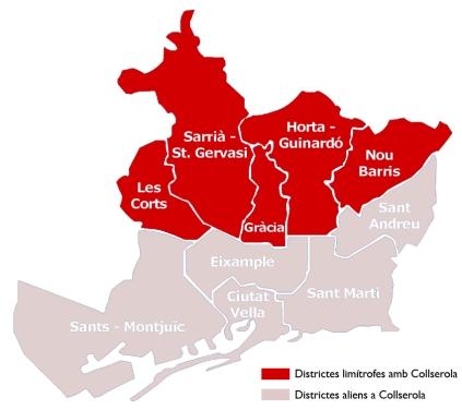Font del Gos sarrià barcelona horta les corts Districte 11 Collserola FAVB coordinadora barris muntanya