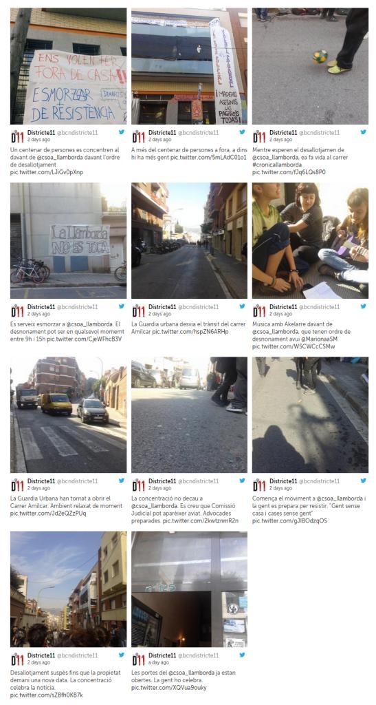 llamborda barcelona ocupació  guinardó districte 11 desallotjament llibertari feminisme