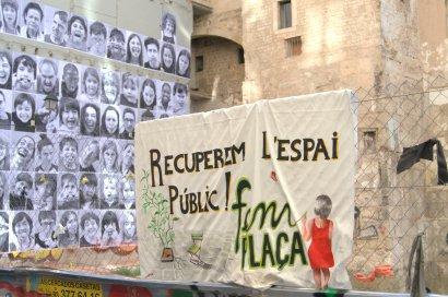 L'Ampa Baixeras i els veïns del Gòtic demanen més espais públics