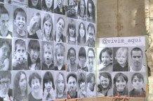 Retrats del projecte @vivim aquí per reclamar més espais per a tots