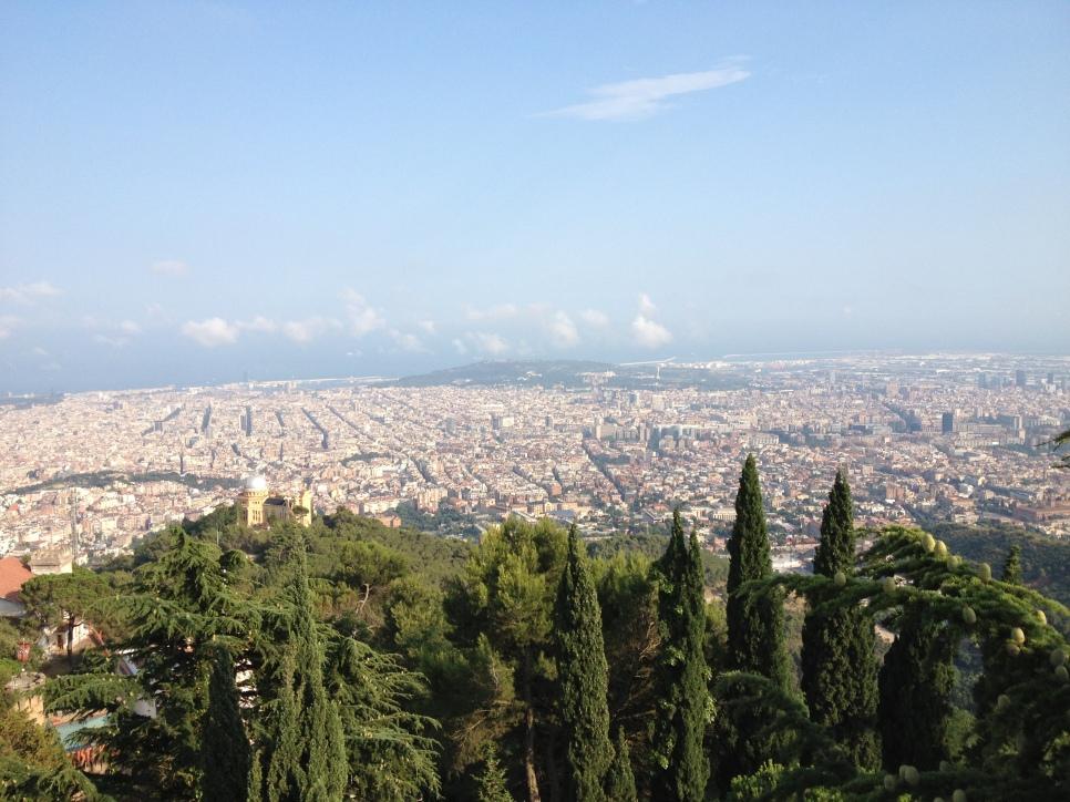 Vista de Barcelona des de Collserola / Marina Riera