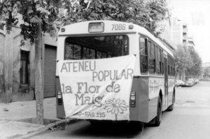 En anys de la cooperativa de consum, la Flor de Maig era un nucli d'activitats de socialització obrera