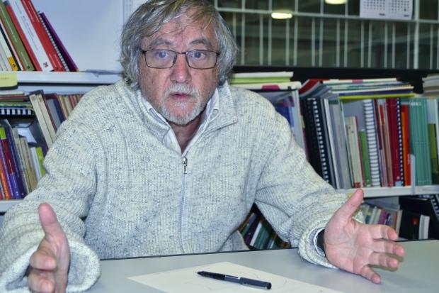 Camilo Ramos a la seu de la FAVB de Barcelona / Judit Casellas