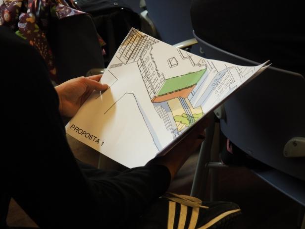 Plànol de l'espai de futura urbanització / Judit Casellas